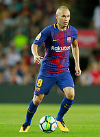 FC Barcelona's Andres Iniesta during Joan Gamper Trophy. August 7,2017. (ALTERPHOTOS/Acero) /NortePhoto.com