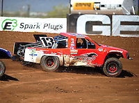 Apr 15, 2011; Surprise, AZ USA; LOORRS driver John Harrah (13) during round 3 and 4 at Speedworld Off Road Park. Mandatory Credit: Mark J. Rebilas-.