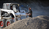 Pictured: Forensics officers searching at the farmhouse site in Kos, Greece. Sunday 09 October 2016<br />Re: Police teams led by South Yorkshire Police, searching for missing toddler Ben Needham on the Greek island of Kos have moved to a new area in the field they are searching.<br />Ben, from Sheffield, was 21 months old when he disappeared on 24 July 1991 during a family holiday.<br />Digging has begun at a new site after a fresh line of inquiry suggested he could have been crushed by a digger.