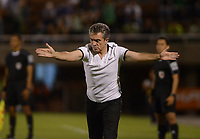 ENVIGADO-COLOMBIA- 24-09-2017.Juan Manuel Lillo director técnico del Atlético Nacional .Acción de juego entre el Envigado FC y el Atlético Nacional  durante encuentro  por la fecha 13 de la Liga Aguila II 2017 disputado en el estadio Polideportivo Sur./ Juan Manuel Lillo coach of Atleico Nacional.Action game between  Envigado FC and Atletico Nacional during match for the date 13 of the Aguila League II 2017 played at Polideportivo Sur stadium . Photo:VizzorImage / León Monsalve / Contribuidor