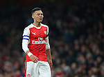 Arsenal's Kieron Gibbs looks on dejected during the EFL Cup match at the Emirates Stadium, London. Picture date October 30th, 2016 Pic David Klein/Sportimage