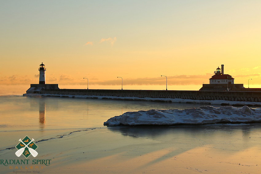 &quot;Reflections and Shadows at Sunrise&quot;<br />