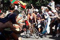 Igor Anton during the stage of La Vuelta 2012 between Palas de Rei and Puerto de Ancares.September 1,2012. (ALTERPHOTOS/Paola Otero) NortePhoto.com<br /> <br /> **CREDITO*OBLIGATORIO** <br /> *No*Venta*A*Terceros*<br /> *No*Sale*So*third*<br /> *** No*Se*Permite*Hacer*Archivo**<br /> *No*Sale*So*third*