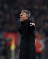 Football, Serie A: AS Roma - Bologna FC, Olympic stadium, Rome, February 18, 2019. <br /> Bologna's coach Sinisa Mihajlovic gestures during the Italian Serie A football match between AS Roma and Bologna FC at Olympic stadium in Rome, on February 18, 2019.<br /> UPDATE IMAGES PRESS/Isabella Bonotto