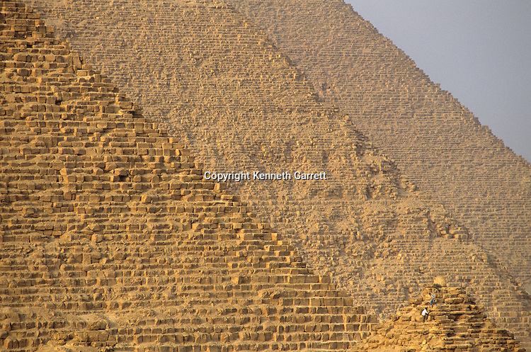 Egypt; Old Kingdom; Pyramids at Giza; Giza Plateau; pyramid; Khufu, Khafre, Menkaure