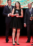 Alhambra Nievas, referee of rugby and the first woman to be chosen best referee of rugby of the world during 37 Sport Gala - National Sports Awards 2017. March 6,2017. (ALTERPHOTOS/Acero)