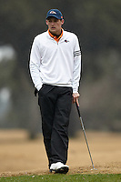 SAN ANTONIO, TX - FEBRUARY 11, 2014: The University of Texas at San Antonio Roadrunners Men's Golf hosts the UTSA Oak Hills Invitational Golf Tournament at the Oak Hills Country Club. (Photo by Jeff Huehn)