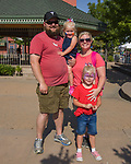 The Fallon family during Star Spangled Sparks on Wednesday July 4, 2018 in downtown Sparks.