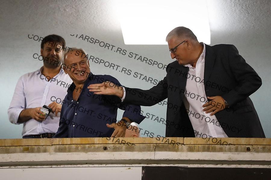 Fudbal Super League Season 2017-2018<br /> Partizan v Mladost (Lucani)<br /> Milorad Vucelic (L)<br /> Beograd, 09.09.2017.<br /> foto: Srdjan Stevanovic/Starsportphoto &copy;