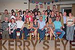 SURPRISE PARTY: Maire O'Shea, Castlelawn Drive (seated 4th right) got a lovely surprise when family and friends got together to throw her a surprise party for her 50th birthday at Kerins O'Rahily GAA club on Saturday night..   Copyright Kerry's Eye 2008