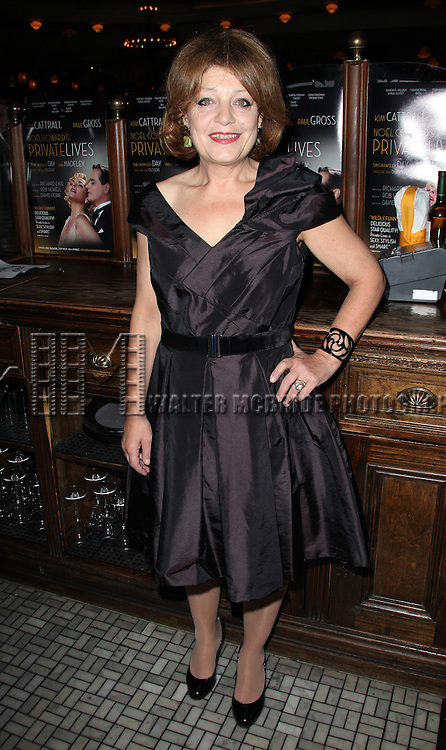 Caroline Lena Olsson.attending the Opening Night Performance after party for 'Private Lives' at Bond 45 in New York City on 11/17/2011.