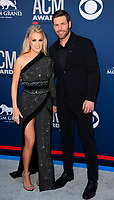 LAS VEGAS, NV - APRIL 7: Carrie Underwood and Mike Fisher attend the 54th Annual ACM Awards at the Grand Garden Arena on April 7, 2019 in Las Vegas, Nevada. <br /> CAP/MPIIS<br /> &copy;MPIIS/Capital Pictures