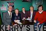 getting ready for the table quiz in the New Kingdom bar Listowel wee Matt Kennelly, Sr. Margaret Flynn, Breda Moore, Eileen and key Kennelly..