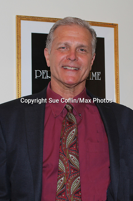 "All My Children's Richard Shoberg stars as ""Inspector James Ascher"" in Perfect Crime - 30th Anniversary off-Broadway on April 18, 2017 at Bernstein Theatre, New York City, New York. (Photo by Sue Coflin/Max Photos)"