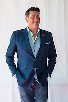 Tony Hadley during Rewind South, The 80s Festival, at Temple Island Meadows, Henley-on-Thames, England on 20 August 2016. Photo by David Horn..