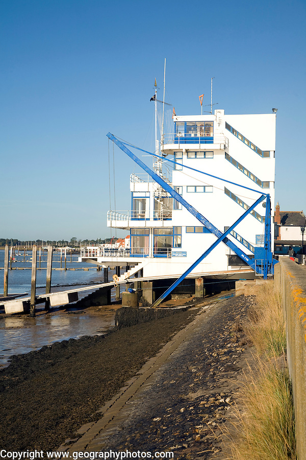 Royal Corinthian Yacht Club building, Burnham on Crouch, Essex, England