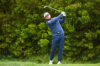 Tyrrell Hatton (ENG) watches his tee shot on 12 during round 3 of the 2019 US Open, Pebble Beach Golf Links, Monterrey, California, USA. 6/15/2019.<br /> Picture: Golffile | Ken Murray<br /> <br /> All photo usage must carry mandatory copyright credit (© Golffile | Ken Murray)