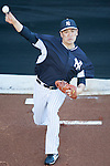 Masahiro Tanaka (Yankees),<br /> FEBRUARY 18, 2014 - MLB : Masahiro Tanaka of the New York Yankees throws in the bullpen during team's spring training baseball camp at George M. Steinbrenner Field in Tampa, Florida, United States.<br /> (Photo by Thomas Anderson/AFLO) (JAPANESE NEWSPAPER OUT)