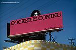 Joe Cocker billboard on theSunset strip