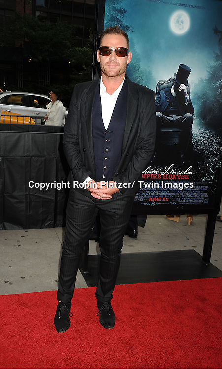 "actor Marton Csokas attends the ""Abraham Lincoln: Vampire Hunter""  Movie Premiere on June 18, 2012 at The AMC  Loews Lincoln Square in New York City."