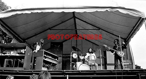 The Nice 1969 Bath Festival Keith Emerson Brian Davison and Lee Jackson<br /> &copy; Chris Walter