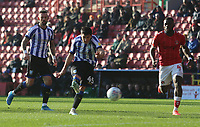 Fernando Forestieri of Sheffield Wednesday shot goes wide during Charlton Athletic vs Sheffield Wednesday, Sky Bet EFL Championship Football at The Valley on 30th November 2019