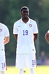 22 May 2014: USA Under-20's Kristoffer Reaves. The Under-20 United States Men's National Team played a scrimmage against the Carolina RailHawks Under-23 team at Koka Booth Stadium at WakeMed Soccer Park in Cary, North Carolina. The United States Under-20s won the game 1-0.