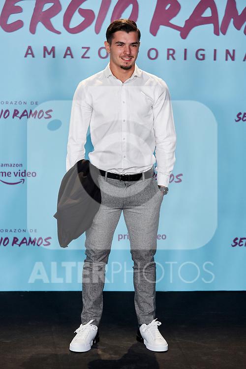 "Brahim Diaz attends to ""El Corazon De Sergio Ramos"" premiere at Reina Sofia Museum in Madrid, Spain. September 10, 2019. (ALTERPHOTOS/A. Perez Meca)"