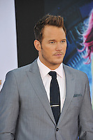 Chris Pratt at the world premiere of his movie &quot;Guardians of the Galaxy&quot; at the El Capitan Theatre, Hollywood.<br /> July 21, 2014  Los Angeles, CA<br /> Picture: Paul Smith / Featureflash