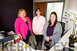 Liz O'Shea (Receptionist), Lorraine Fleming (Manager) and Elaine Hennessy (Admin) at the Clounalour Medical centre at Centrepoint