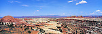 America Panorama - Rock formations in Canyonlands National Park, Utah, America<br />