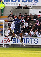Pictured: Ashley Williams of Swansea City in action<br /> Re: Coca Cola Championship, Swansea City FC v Cardiff City at the Liberty Stadium. Swansea, south Wales, Sunday 30 November 2008.<br /> Picture by D Legakis Photography / Athena Picture Agency, Swansea 07815441513