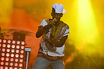 Black M french singer during the Brussels Summer Festival, 19 aout 2015, Brussels, Belgium