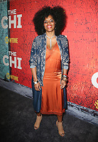 03 January 2018 - Los Angeles, California - Tyla Abercrumbie. Showtime's &quot;The Chi&quot; Los Angeles Premiere held at Downtown Independent.     <br /> CAP/ADM/FS<br /> &copy;FS/ADM/Capital Pictures
