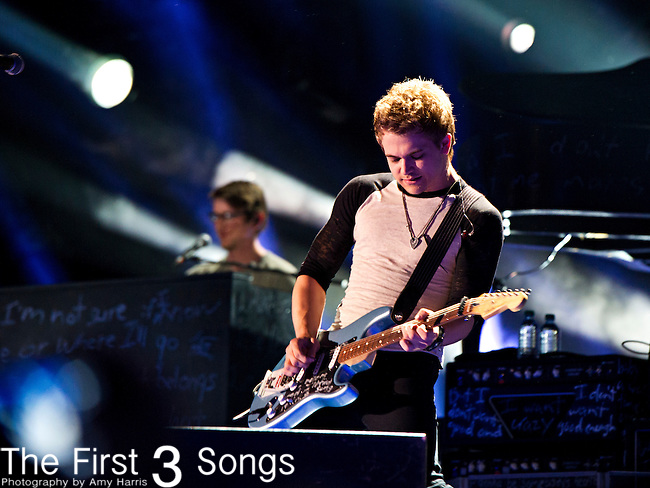 Hunter Hayes performs at LP Field during Day 2 of the 2013 CMA Music Festival in Nashville, Tennessee.