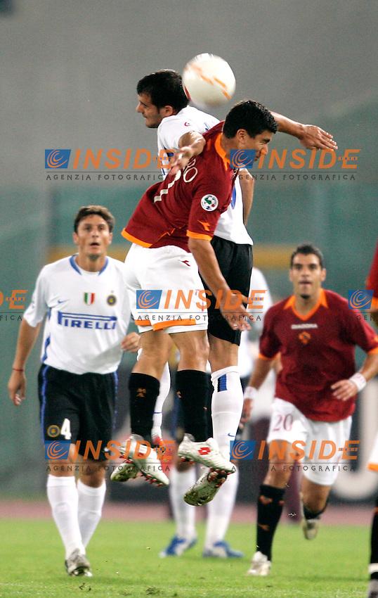 Roma 20/9/2006 <br /> Campionato Italiano Serie A Roma Inter 0-1<br /> Photo Andrea Staccioli INSIDE / www.insidefoto.com <br /> AS Roma David PIZARRO and Fc Inter Dejan STANKOVIC
