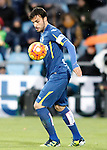 Getafe's Pedro Leon during La Liga match. February 14,2016. (ALTERPHOTOS/Acero)
