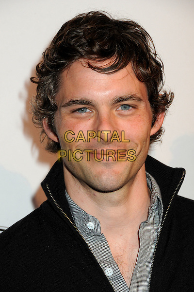 JAMES MARSDEN .TOD's Beverly Hills Boutique Launch Celebration held at TOD's Boutique, Beverly Hills, California, USA, .15th April 2010..portrait headshot smiling grey gray black .CAP/ADM/BP.©Byron Purvis/AdMedia/Capital Pictures.