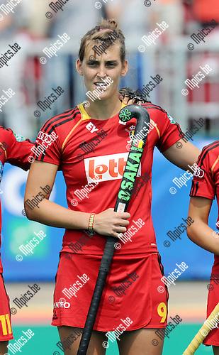 2013-07-14 / Hockey / seizoen 2013 / Dames Belgi&euml; / Lieselotte Van Lindt<br /><br />Foto: Mpics.be
