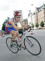 01 JUL 2007 - COPENHAGEN, DEN - Abby-Jade Norman - winner of the Womens 18-19 age group - European Age Group Triathlon Championships. (PHOTO (C) NIGEL FARROW)