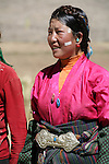 Rural Tibetans along the Friendship Highway in southern Tibet.