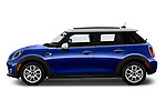 Car Driver side profile view of a 2019 MINI Hardtop-4-Door Cooper-Signature 5 Door Hatchback Side View