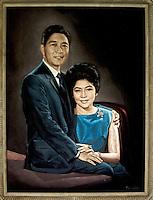 Imelda Marcos,Painting of Imelda and Ferdinand Marcos