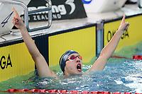 Davis Beck, 100m Free Para NZ Record. New Zealand Short Course Swimming Championships, National Aquatic Centre, Auckland, New Zealand, Saturday 5th October 2019. Photo: Simon Watts/www.bwmedia.co.nz/SwimmingNZ