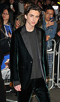 Timoth&eacute;e Chalamet at the &quot;Call Me By Your Name&quot; 61st BFI LFF Mayor of London's gala, Odeon Leicester Square, Leicester Square, London, England, UK, on Monday 09 October 2017.<br /> CAP/CAN<br /> &copy;CAN/Capital Pictures