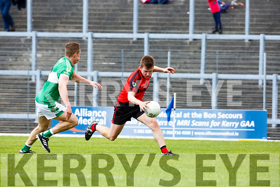 Denis Cronin Kenmare takes on Denis Sheahan Legion during their Club Championship s/f in Fitzgerald Stadium on Sunday