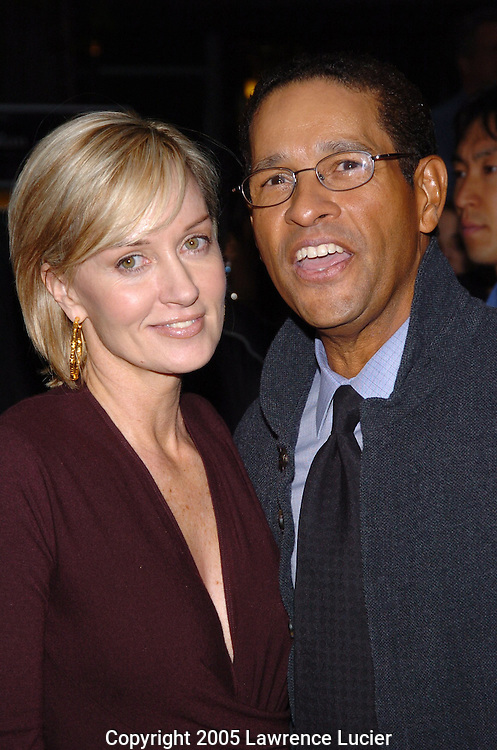 Hilary Quinlan and Bryant Gumbel