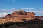 Mexican Mountain in the Mexican Mountain Wilderness Study Area of the San Rafael Swell in Utah.