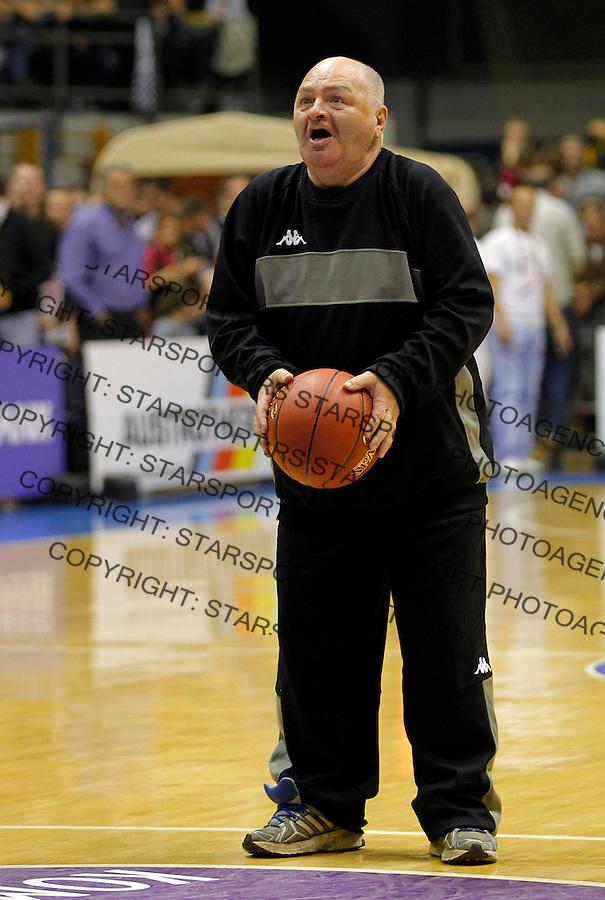 BELGRADE SERBIA 18/10/2012/ Misa Tumbas Euroleague basketball game Partizan MTS -  CSKA Moscow (credit & photo: Pedja Milosavljevic / +381 64 1260 959 / thepedja@gmail.com)