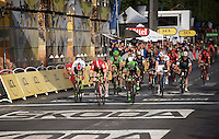 André Greipel (DEU/Lotto-Soudal) wins his 4th stage of this Tour on the final stage into Paris on the Champs Elysées<br /> <br /> stage 21: Sèvres - Champs Elysées (109km)<br /> 2015 Tour de France